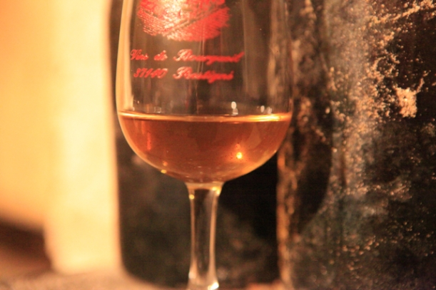 1857 Vouvray: still clear, golden colour