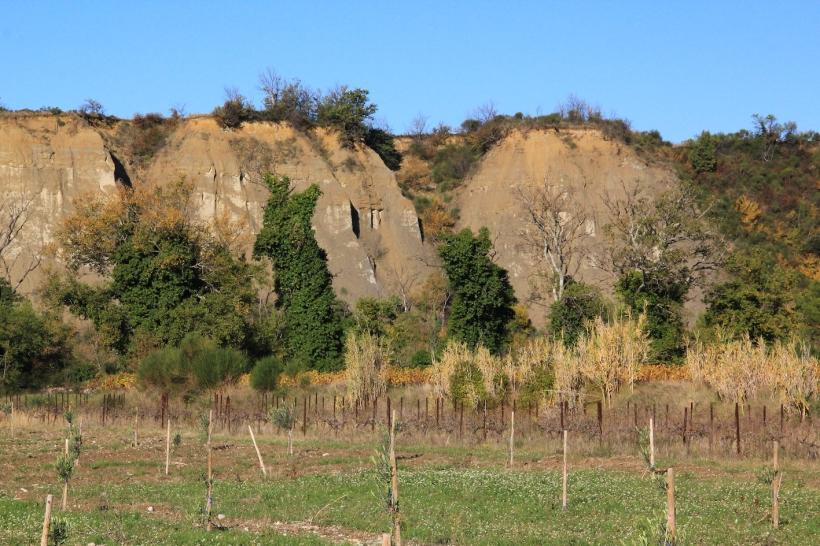 marnes bleues falaises rive droite Ouvèze IMG-9232