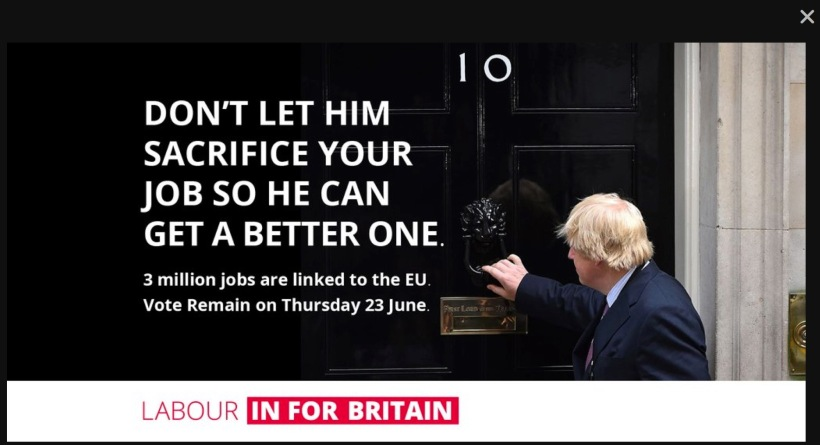 Boris Johnson No 10