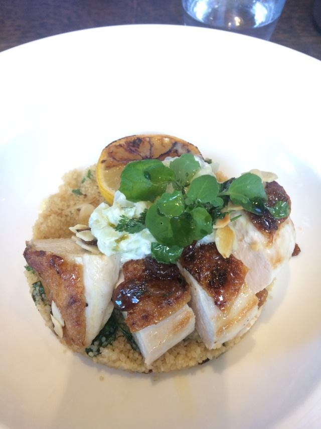 Chicken breast+ cous cous