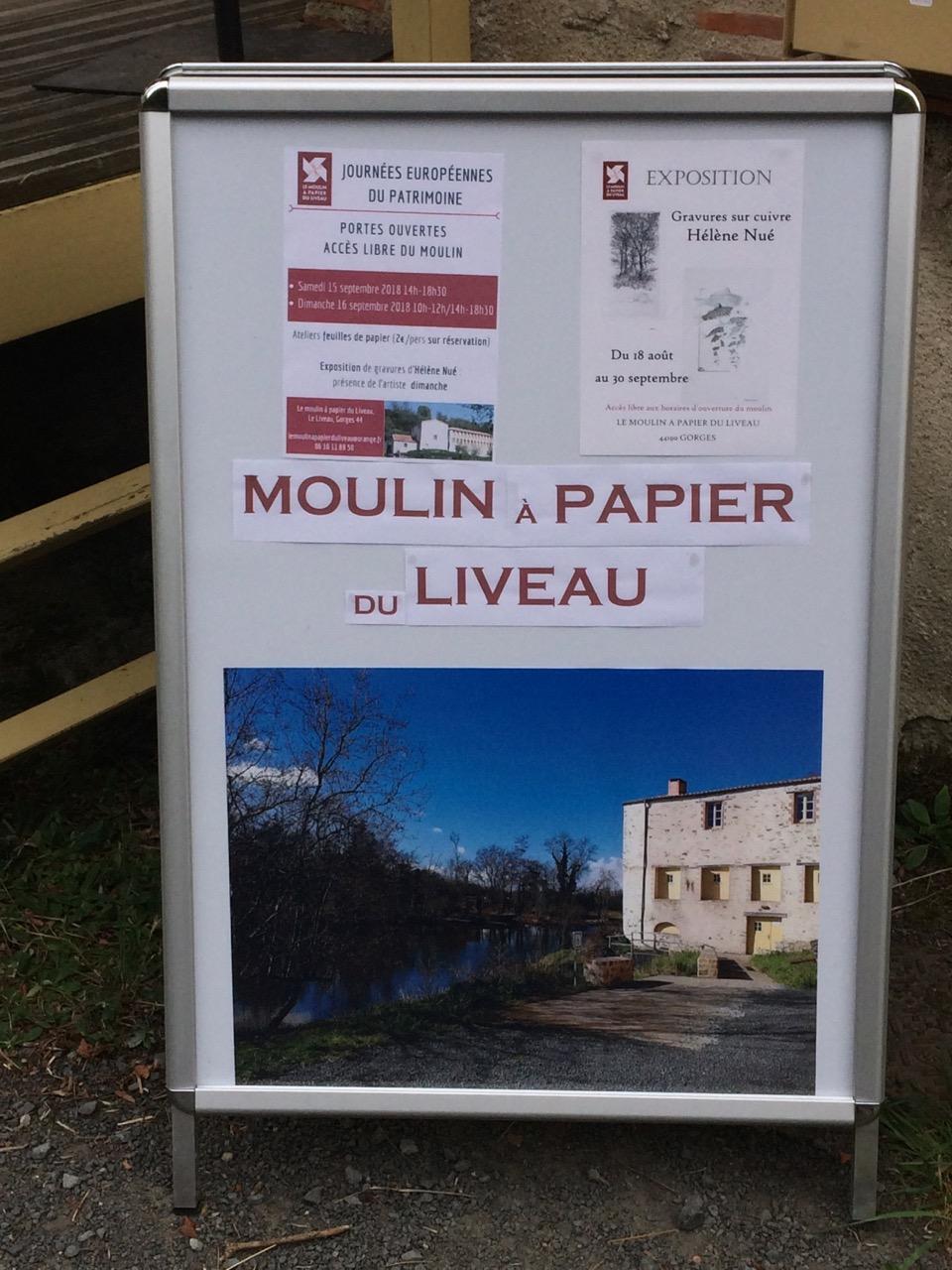 Moulin Papier Liveau