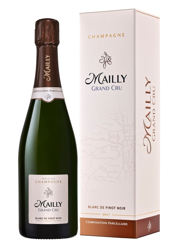 Cuvée Blanc de Pinot Noir Champagne Mailly Grand Cru avec étui