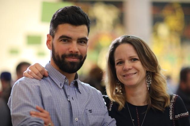 Jonathan et Nina Pabiot