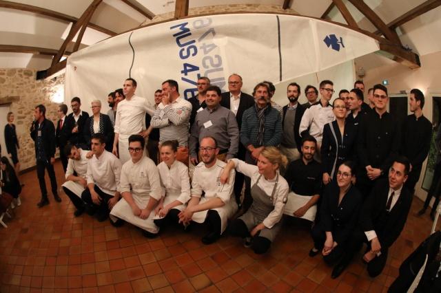 Group foto - chefs etc.