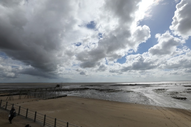 Sea, sky, oysters