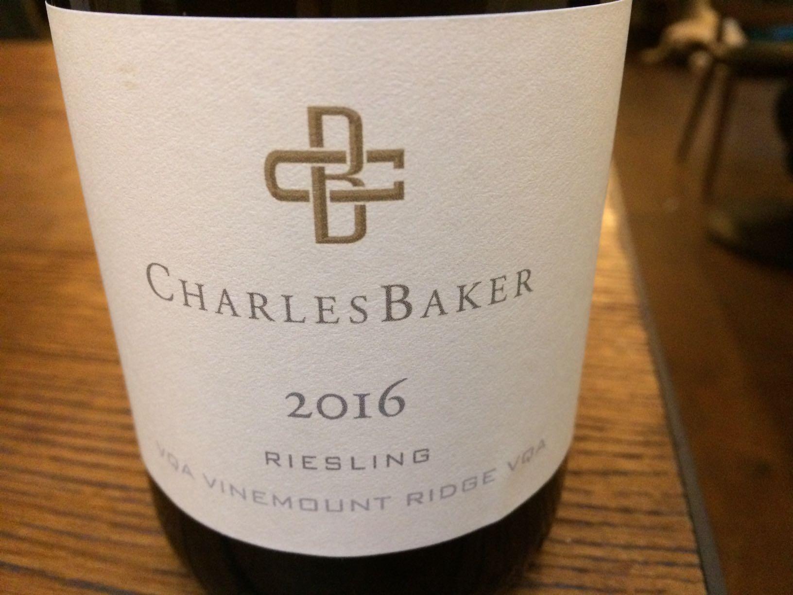 Charles Baker Riesling