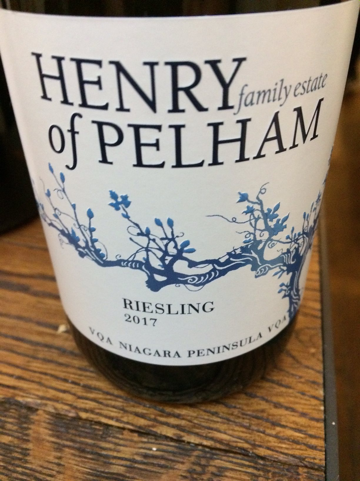 Henry of P Riesling 2017