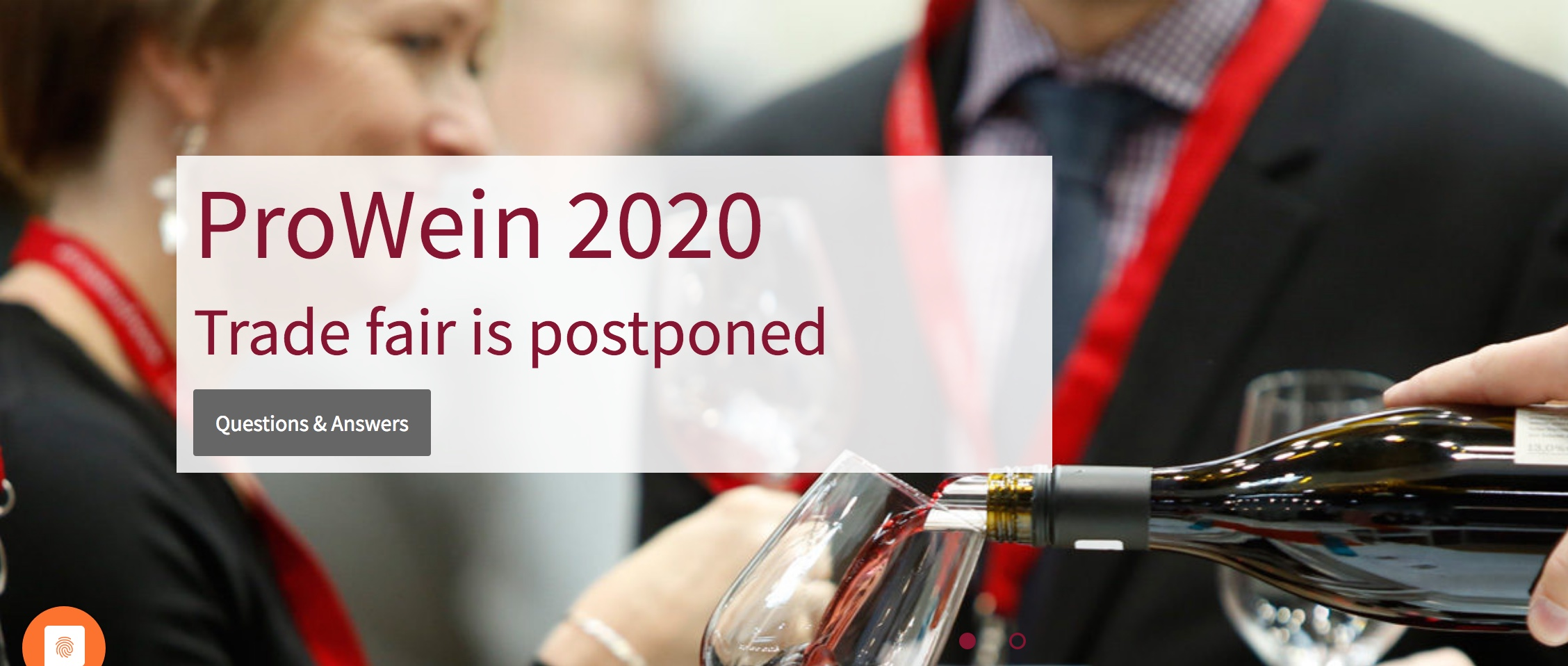 Prowein cancelled