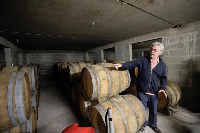 Jacky Blot barrel cellar