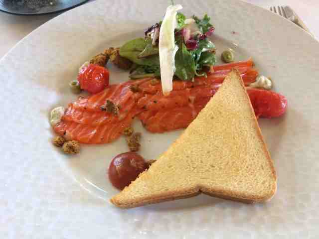 Salmon - 1st course